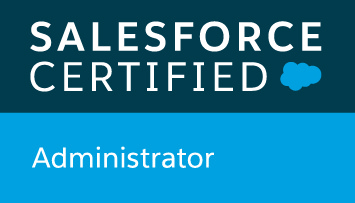 badge salesforce administrator